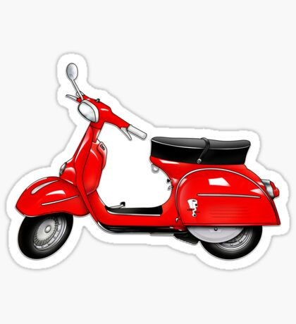 Scooter T-shirts Art: SS 180 Scooter Design Sticker