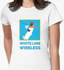 WLW logo with words Women's Fitted T-Shirt