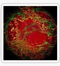 A Nice Rub... © 2008 Brad Michael Moore Sticker