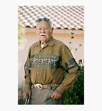 Last Son of Poncho Villa Photographic Print