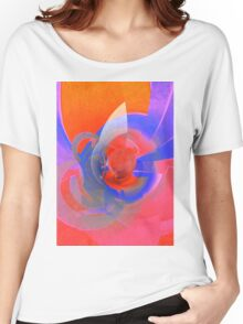 Traveling In Orange Space © Brad Michael Moore Women's Relaxed Fit T-Shirt
