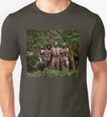 The Three Servicemen - Vietnam Memorial Unisex T-Shirt