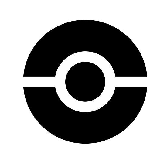 Pokémon Go Pokéball Symbol By Pokego Posters By Poke Go Redbubble
