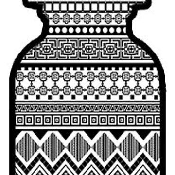 Vape Juice Bottle (Aztec) by Iaccol