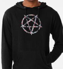 Floral Pentagram Lightweight Hoodie