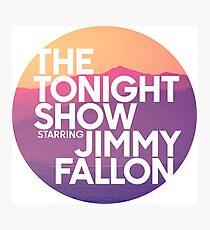 Sunset Jimmy Fallon Photographic Print