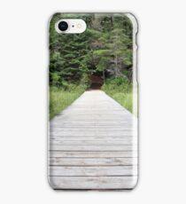 Bridge Over Peck Lake iPhone Case/Skin