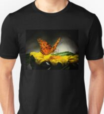 Passion butterfly at night Unisex T-Shirt