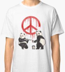 Pandalism 2 Peace Sign Classic T-Shirt
