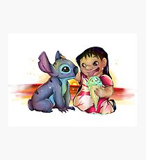 Lilo and Stitch Photographic Print
