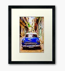 Cuban Blues Framed Print