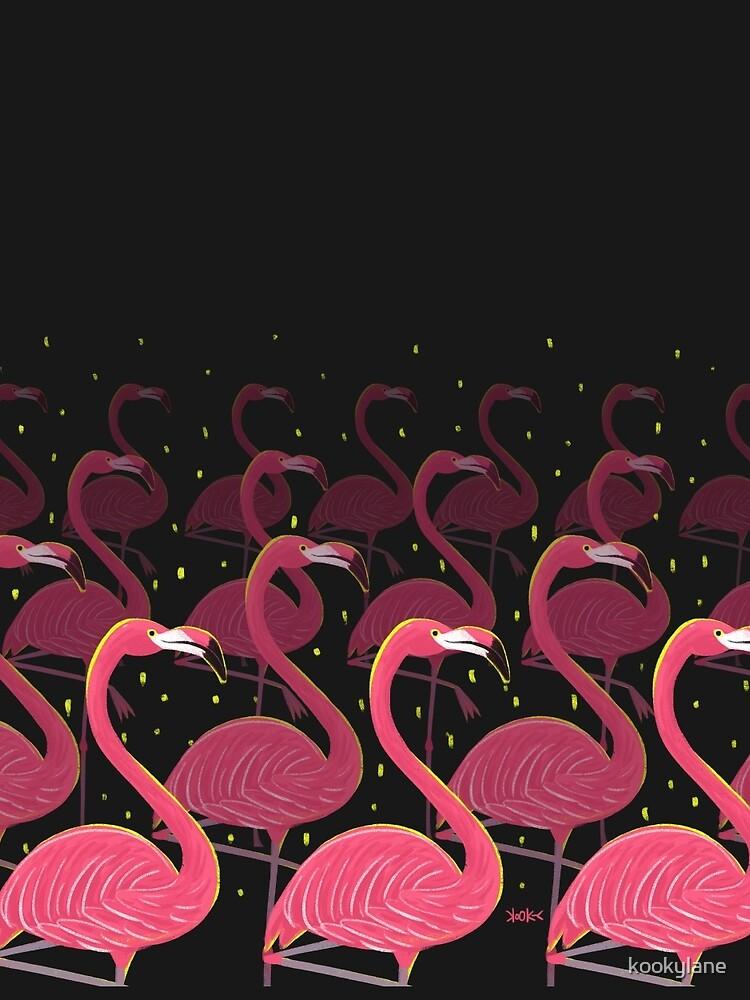 Flamingo March by kookylane