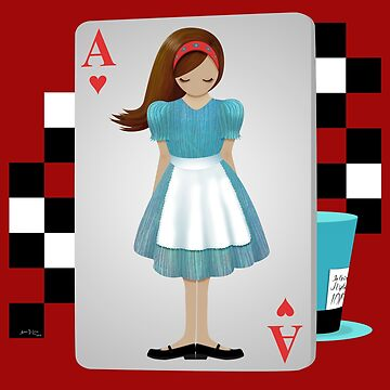 Alice 3D Flying Cards - Cut Out by artbyaud