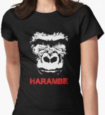 Harambe Women's Fitted T-Shirt