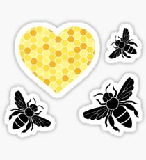 Bee Still My Heart Sticker
