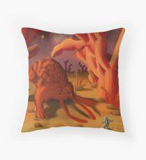 Alien Life Throw Pillow