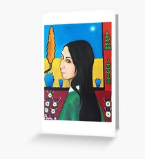Rachael, Van Gogh prostitute in Arles, France Greeting Card