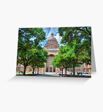 Texas State Capital Greeting Card