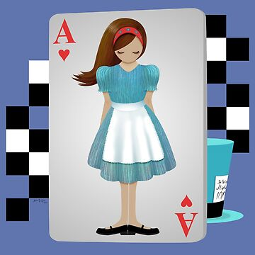 Alice 3D Flying Cards by artbyaud