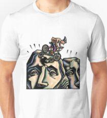 Mount Rushmore Mountain Biker Unisex T-Shirt