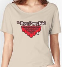 The beer pong kid Women's Relaxed Fit T-Shirt