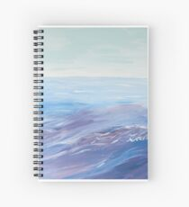The ability of being wings of happiness and freedom Spiral Notebook