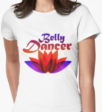 Belly dancer Womens Fitted T-Shirt