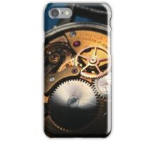 Omega Mechanical Watch Movement iPhone Case/Skin