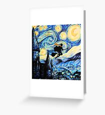 Potter Starry Night Greeting Card