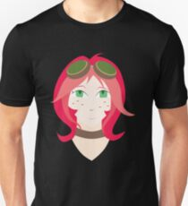 Steampunk Goggles Girl Unisex T-Shirt