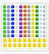 Premium Limited Edition 100+ World Locks Stickers 2016 Sticker