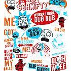 Morty & Rick  by Lulita-cross