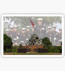 Iwo Jima Memorial - U.S. Marines Sticker