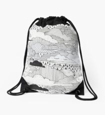 Clouds Drawstring Bag