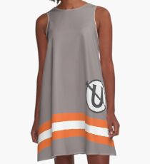 Holtzmann Screw U Necklace Ghostbusters A-Line Dress