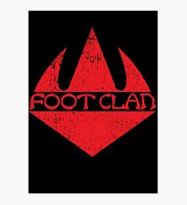 Foot Clan Photographic Print