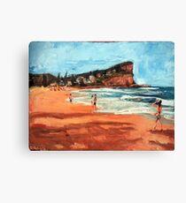 Avalon Beach Canvas Print