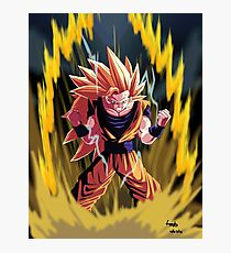 Goku ssj3 full power Photographic Print