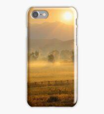Bitterroot Gold, Salmon, Idaho iPhone Case/Skin