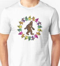 Gratefoot Circle Design T-Shirt