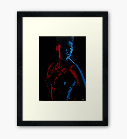 D-Eye's Abel Framed Print