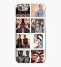 Jack Gilinsky Collage  iPhone Case/Skin