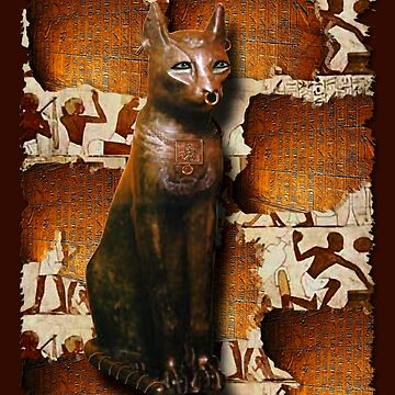 """""""In the Catacombs of Bastet"""" by RavenPrints"""