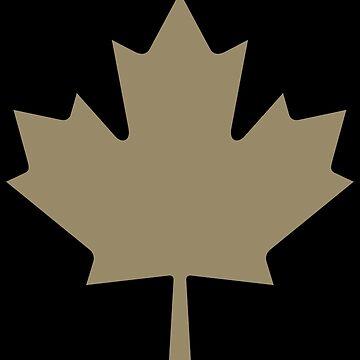 Maple Leaf - Drake Gold by yomitori