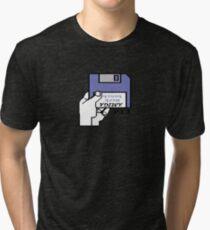 AMIGA LOGO Tri-blend T-Shirt
