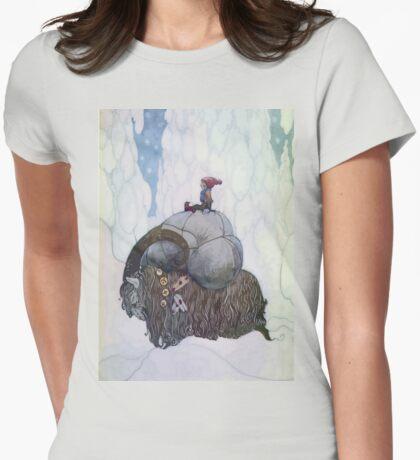 Jullbocken The Yule Goat Being Ridden By A Child T-Shirt