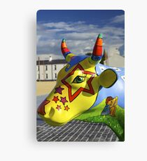 Play Trail - Asperations Cow, Ebrington Canvas Print