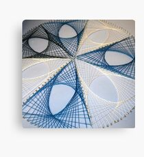 Overlapping Calculus Curves Canvas Print