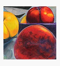 Stoned Fruit in Color Pencil Photographic Print