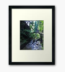 Ithaca is Gorges Framed Print